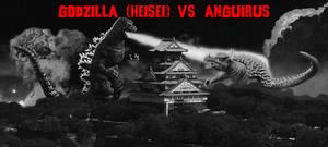 The KaijuX Canon - Godzilla vs. Anguirus by KaijuX