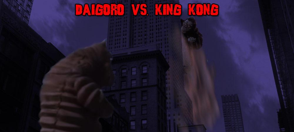 KWCB - Daigoro vs. King Kong V2 by KaijuX