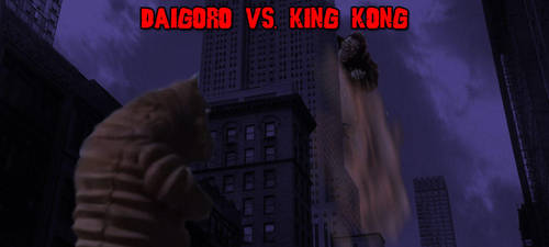KWCB - Daigoro vs. King Kong V2 by KaijuX