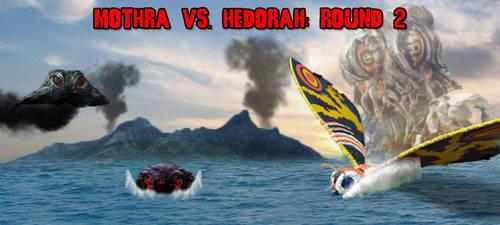 KWCB - Mothra (H) vs. Hedorah (S) - Round 2 by KaijuX