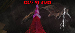 KWCB - Rodan vs. Gyaos by KaijuX
