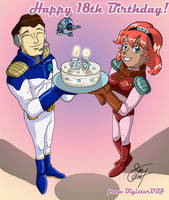 Happy 18th To Meh Sister by digistardbz