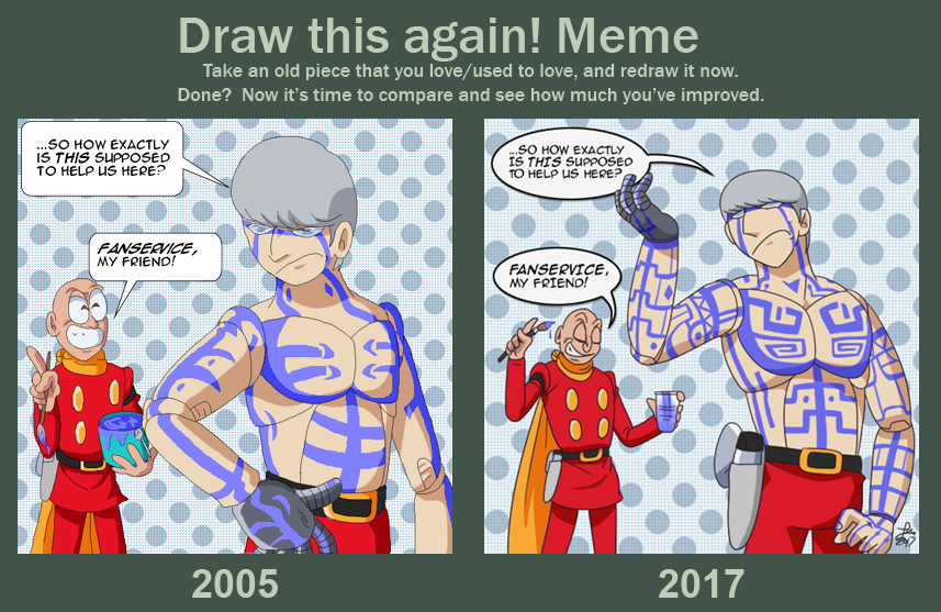 -DRAW THIS AGAIN-It's All About the Fans by digistardbz