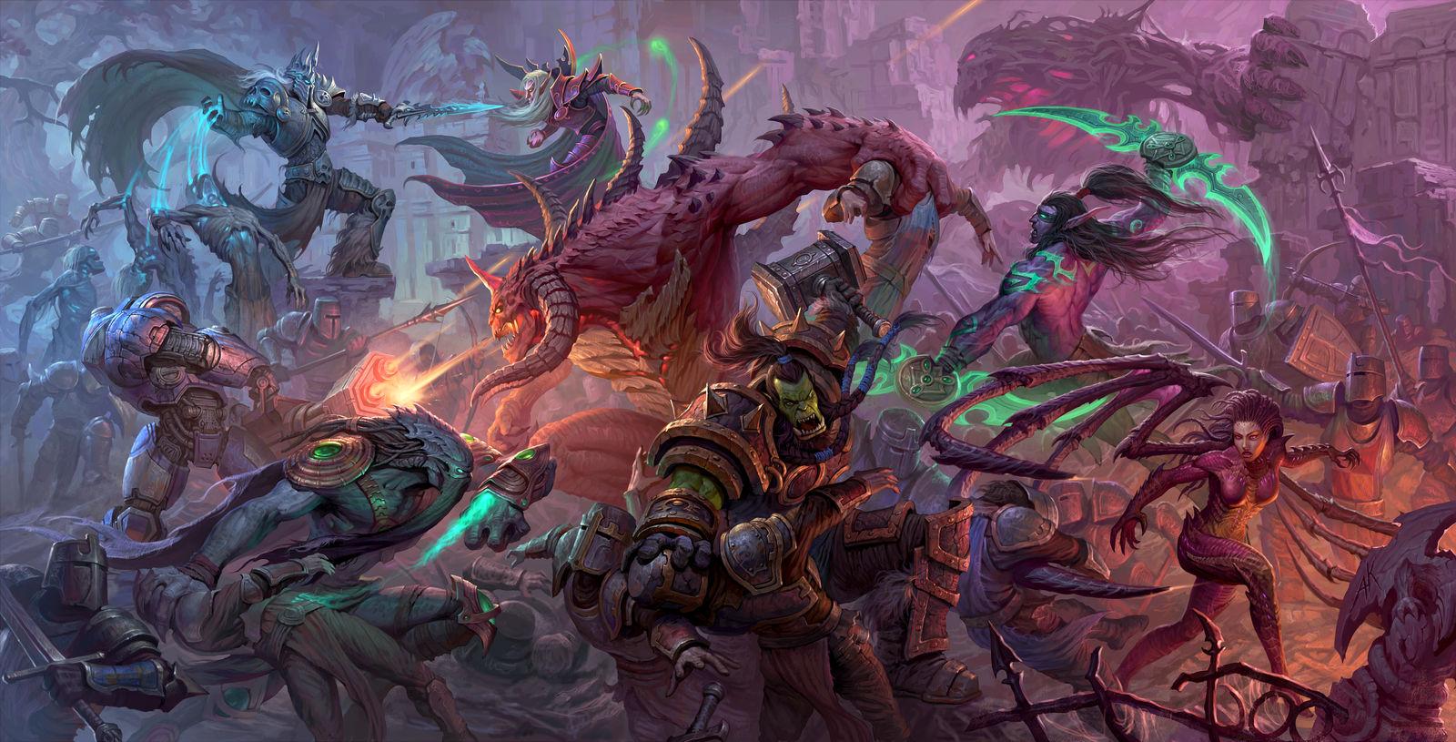 Battle Heroes by Kuzinskiy