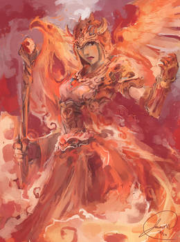 Fire Mage by JasonTN