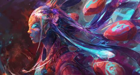 Cosmic Entity by JasonTN