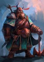 Viking Mage Concept by JasonTN