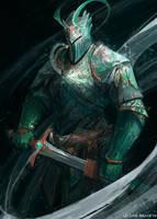 Wind Knight by JasonTN