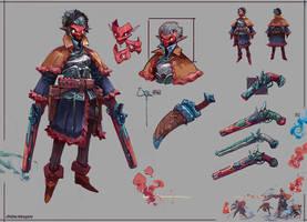 Gunslinger by JasonTN
