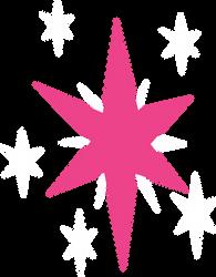 Twilight Sparkle Cutie Mark (with SVG) by intbrony