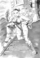 Cammy on her battleground by rodstella