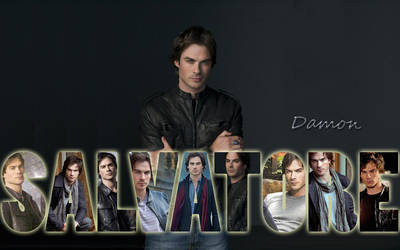 Damon Salvatore by Coley-sXe