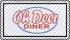Oh Deer Diner stamp by Coley-sXe