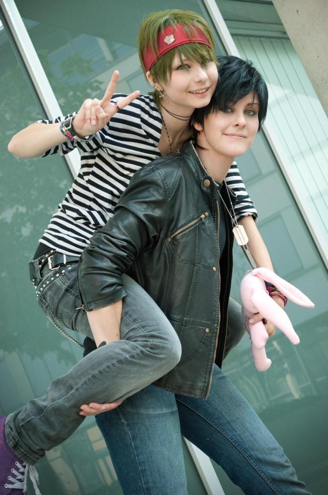 Tatsuha and Ryuichi by missmoltobene