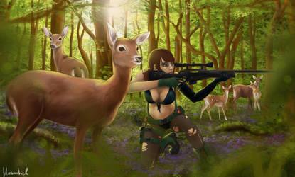 Quiet Forest by missmoltobene