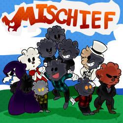 Paper Mischief by ddddspup