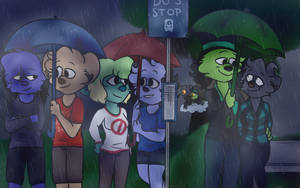 A Rainy Day by ddddspup