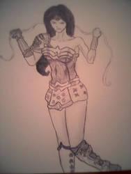 Amazon Fury: Wonder Woman by BryanRocco