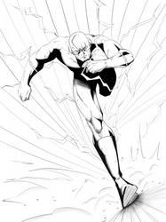 The Flash inks (ipad pro) by Ernestjoel