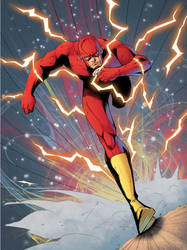 The Flash colored by Ernestjoel