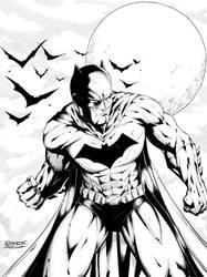 Batman inks complete (ipad pro) by Ernestjoel