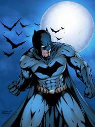 Batman Colored by Ernestjoel
