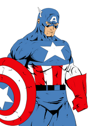 Captain America Flats by Ernestjoel