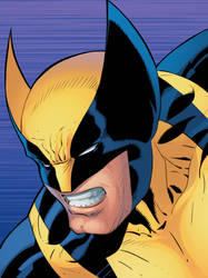 Wolverine Colored by Ernestjoel