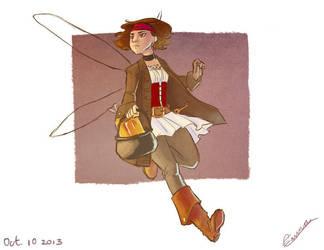Pirate Fairy by vasira