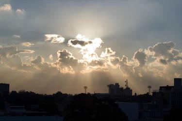 atomic sunset by kymw