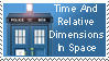 TARDIS Stamp by Carthoris
