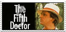 Fifth Doctor Stamp by Carthoris