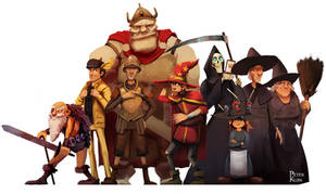 Discworld's finest by PeterKlijn