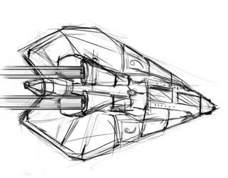 Nie Spaceship by Emperor-CatVI