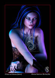 Sabriel - Of Roses and Talismans (Portrait) by ObscuroArcanum