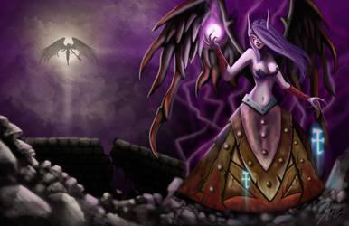 Morgana The Fallen Angel by Umraedia