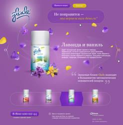 Glade micro-spray promo by nikitaindesign