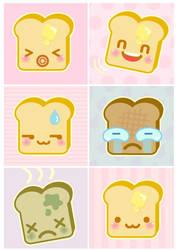 Toast: A study by milkbun