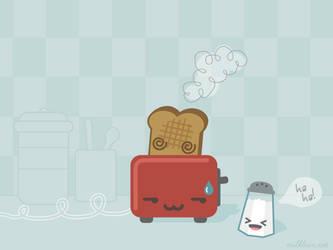 Toast's Death 2 Wallpaper by milkbun