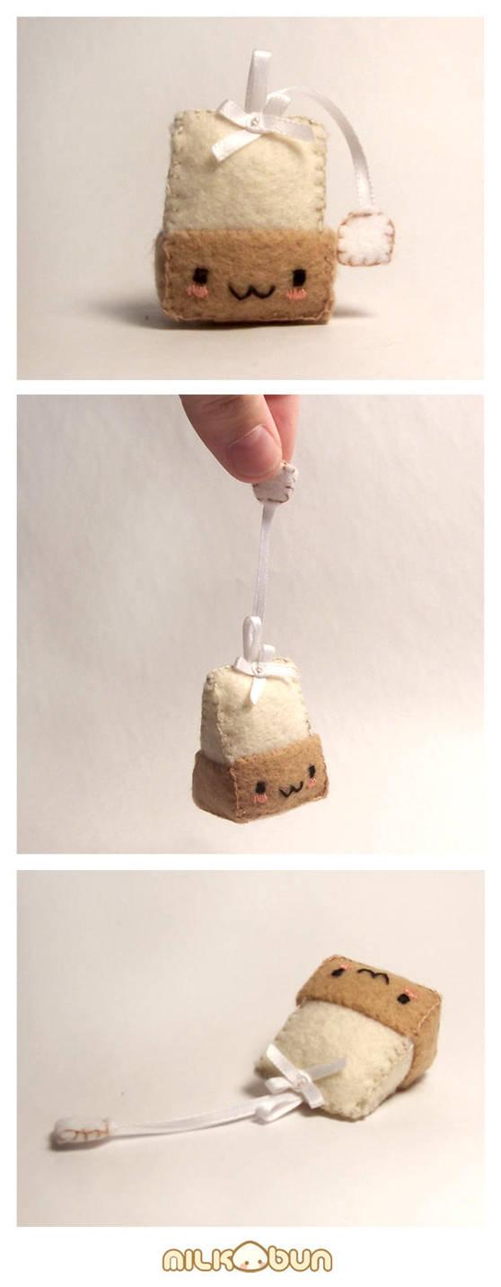 teabag plush by milkbun