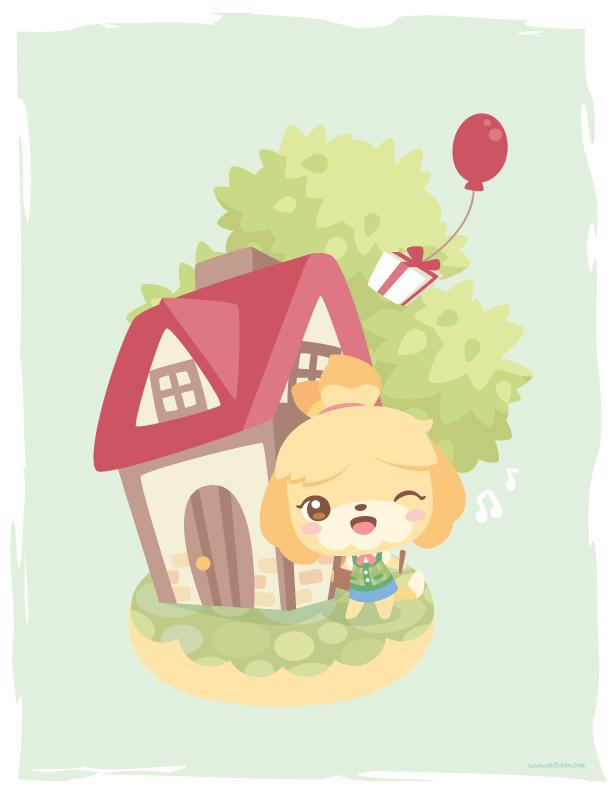 ACNL: Isabelle by milkbun