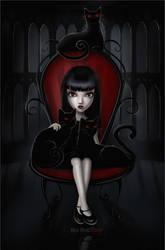 Emily the Strange by BigBad-Red