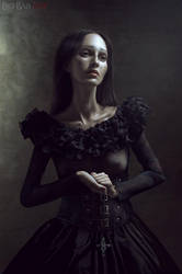 Gothic Portraits: Prayer by BigBad-Red