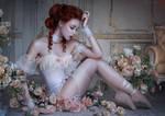 Floral Tenderness by BigBad-Red
