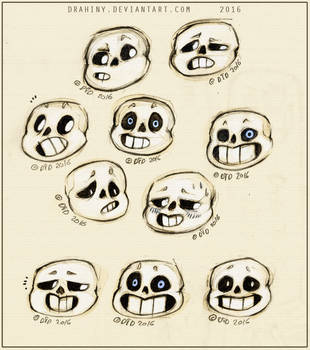 Sans faces by Drahiny