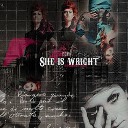 She's Wright by GlamourObsession