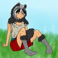 Badger Boy by smoochum302