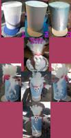 Nonon Jakuzure Hat Tutorial by smoochum302