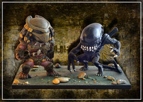 Alien Vs Predator by FarawayPictures