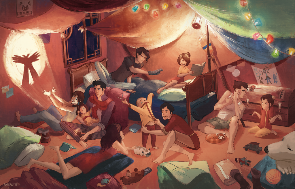 Bedtime story by Saperlotte